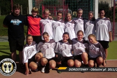 2011/2012 - DOROSTENKY