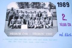 1988/1989 - MLADŠÍ ŽÁCI