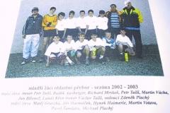 2002/2003 - MLADŠÍ ŽÁCI